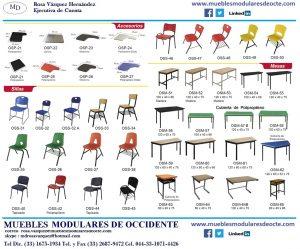 Folleto muebles escolares 1