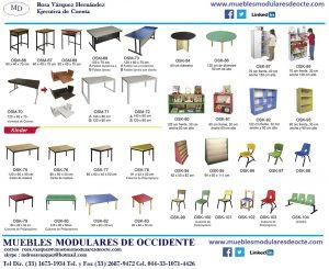 Folleto muebles escolares 2