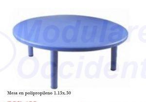 Mesa Kinder 1.15x50 Polipropileno