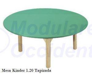 Mesa Kinder OSK-108 tapizada