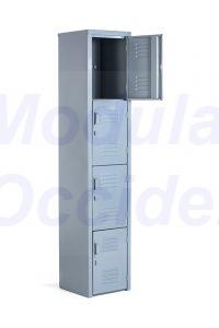 locker metalico 4 puertas