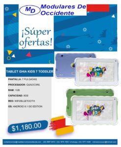 oferta tablet azul