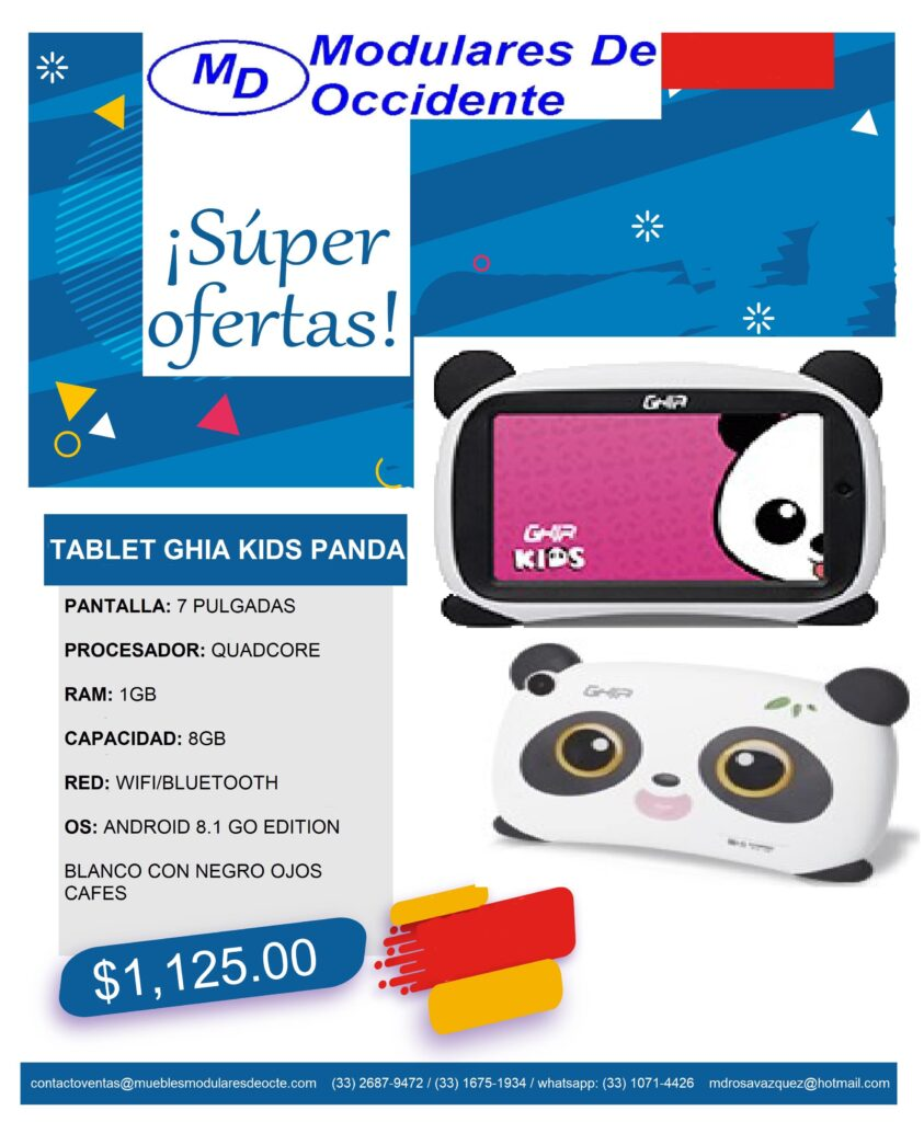 oferta tablet panda