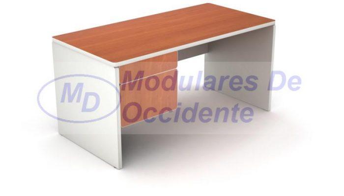 escritorio de 2 gavetas
