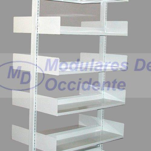 librero metalico para biblioteca o archivo