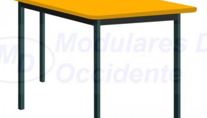 mesa trapezoidal